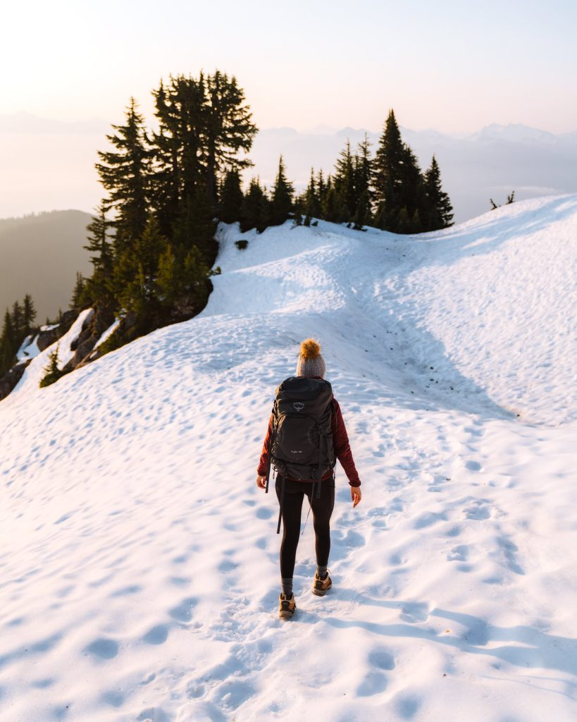 Ultimate Guide to Winter Hiking and Camping - winter sunrise hike