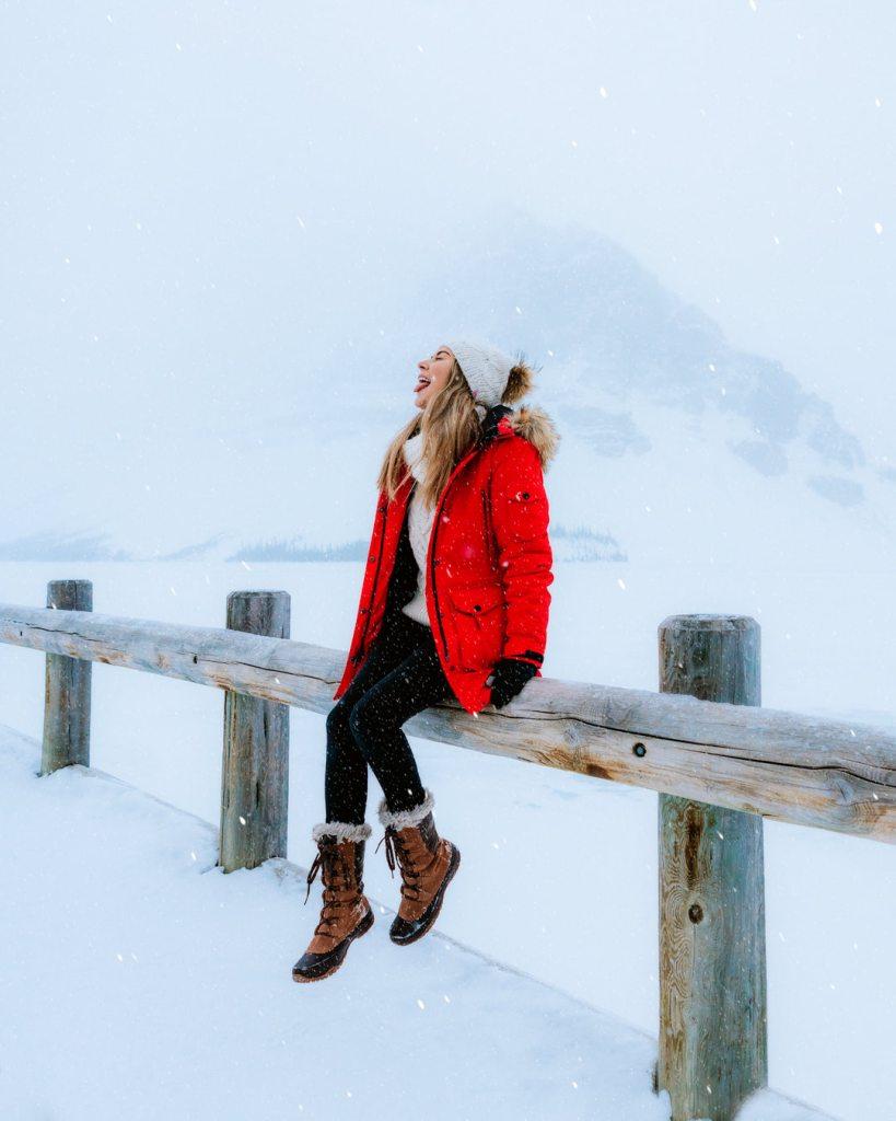 Planning a Trip toBanffin Winter - Bow Lake - Renee Roaming