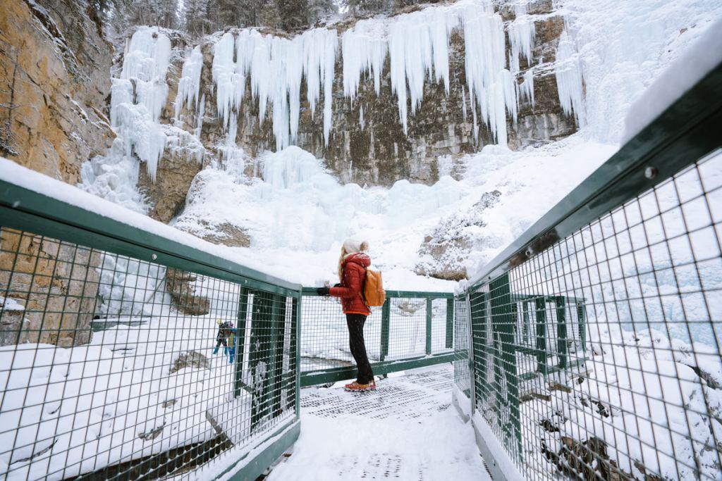 Planning a Trip toBanffin Winter - Johnston Canyon - Renee Roaming