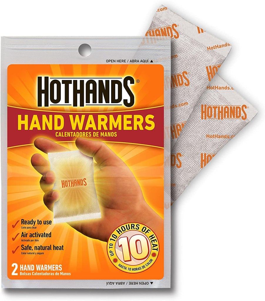 Gloves to wear on a winter Arctic Trip - HotHands Hand Warmers