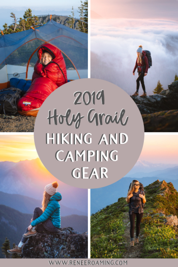 Holy Grail Hiking and Camping Gear - 2019 Edition - Renee Roaming