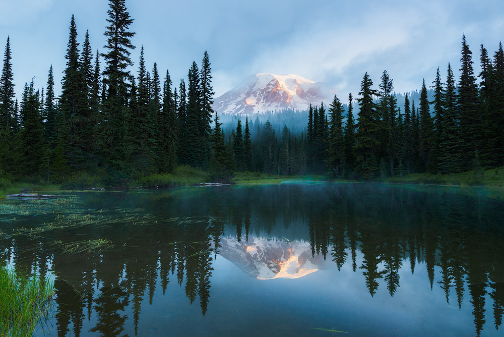 Mount Rainier National Park Guide - Everything You Need to Know - Renee Roaming - Reflection Lake