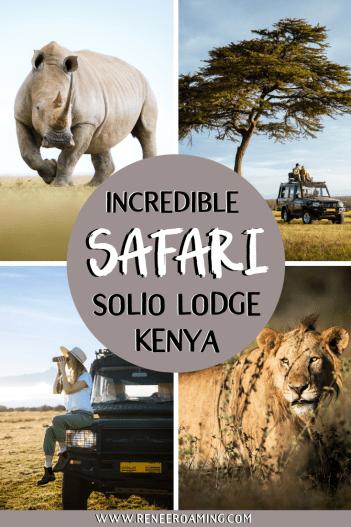 Incredible Wildlife Safari at Solio Lodge in Kenya