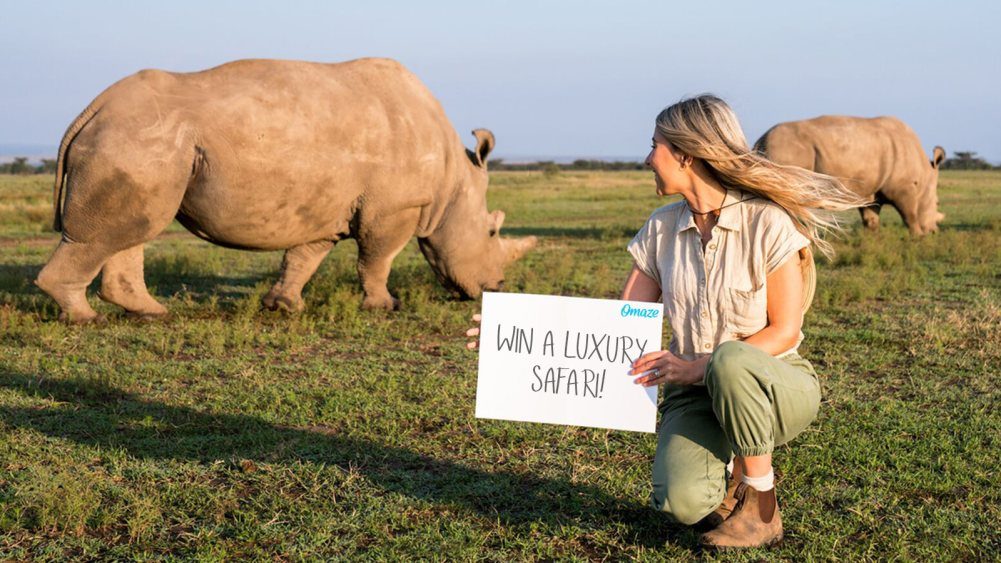 Ultimate Safari Adventure at Ol Pejeta Conservancy Kenya Omaze