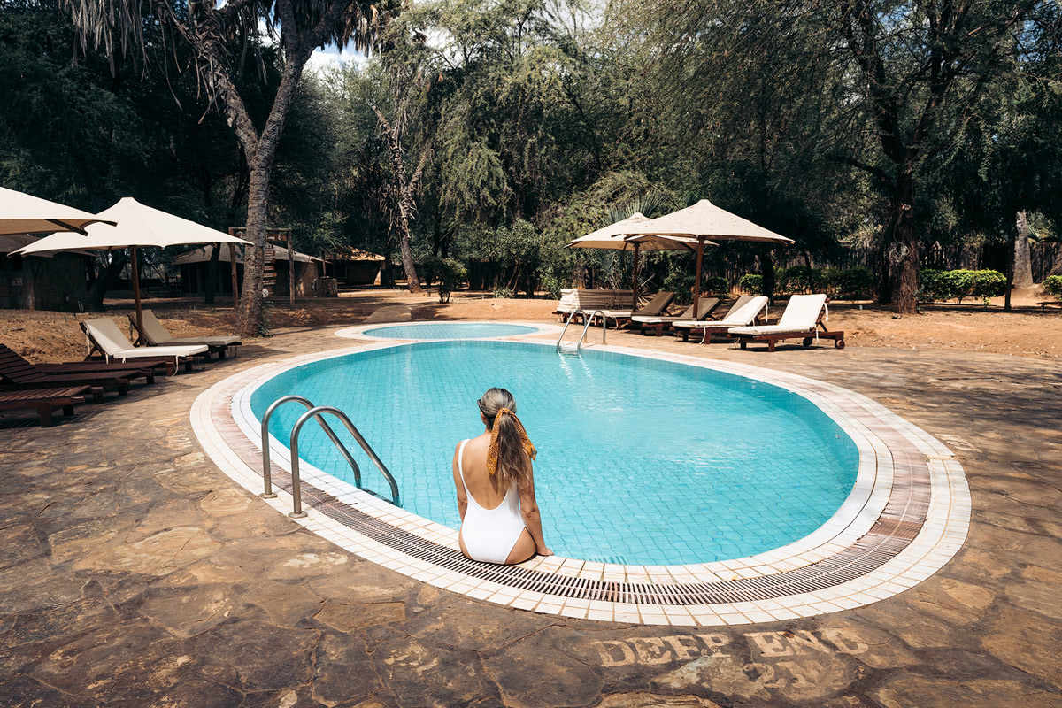 A Magical Stay at Ashnil Samburu Camp, Kenya - Pool