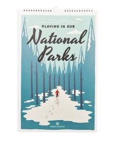 Holiday Gift Guide for National Park Lovers - Calendar
