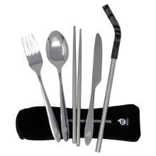 12 Ways to be a Responsible Traveler - Mizu Cutlery Set