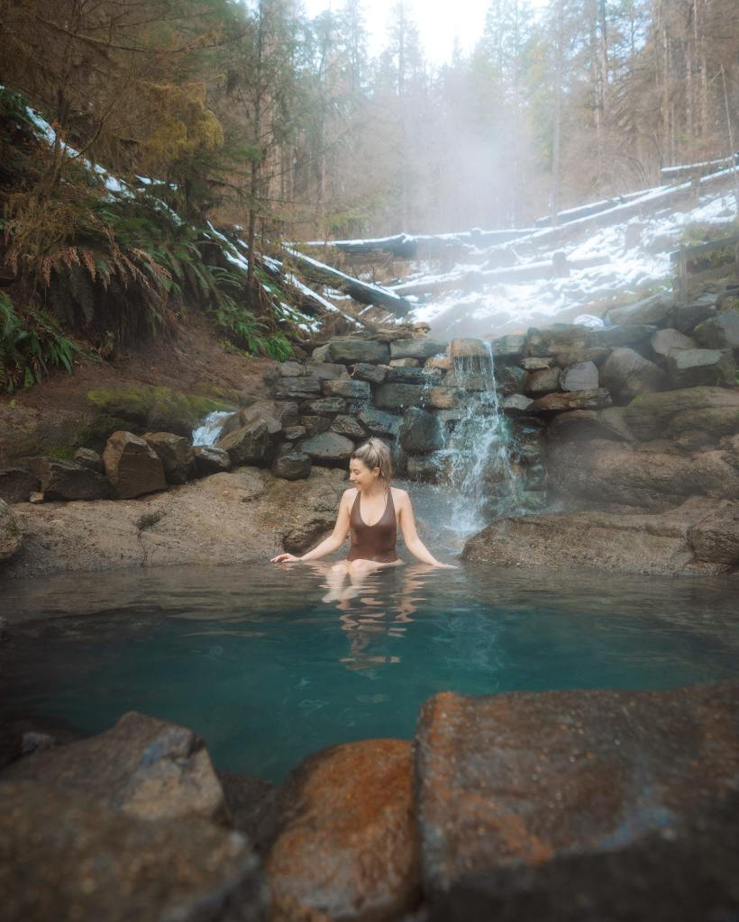 Scenic Oregon 7 Day Road Trip Exploring the Mountains and Coast - Terwilliger Cougar Hot Springs
