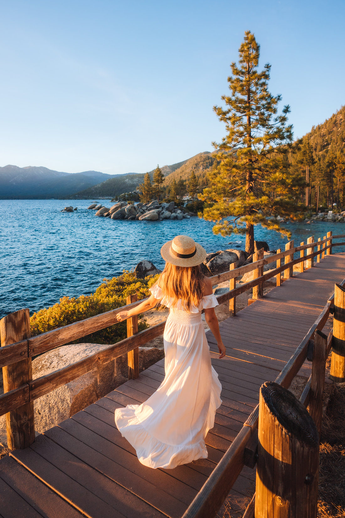 9 Spring Travel Destinations to Inspire Your Next Trip - Lake Tahoe Nevada Sunset