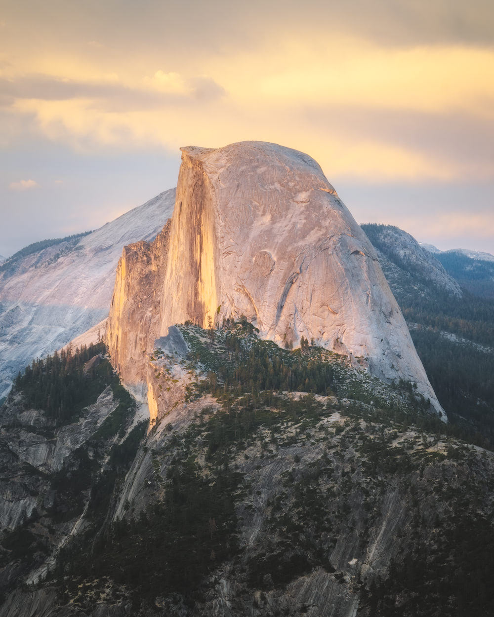 The Ultimate Guide to Exploring Yosemite National Park - Half Dome Sunsetv