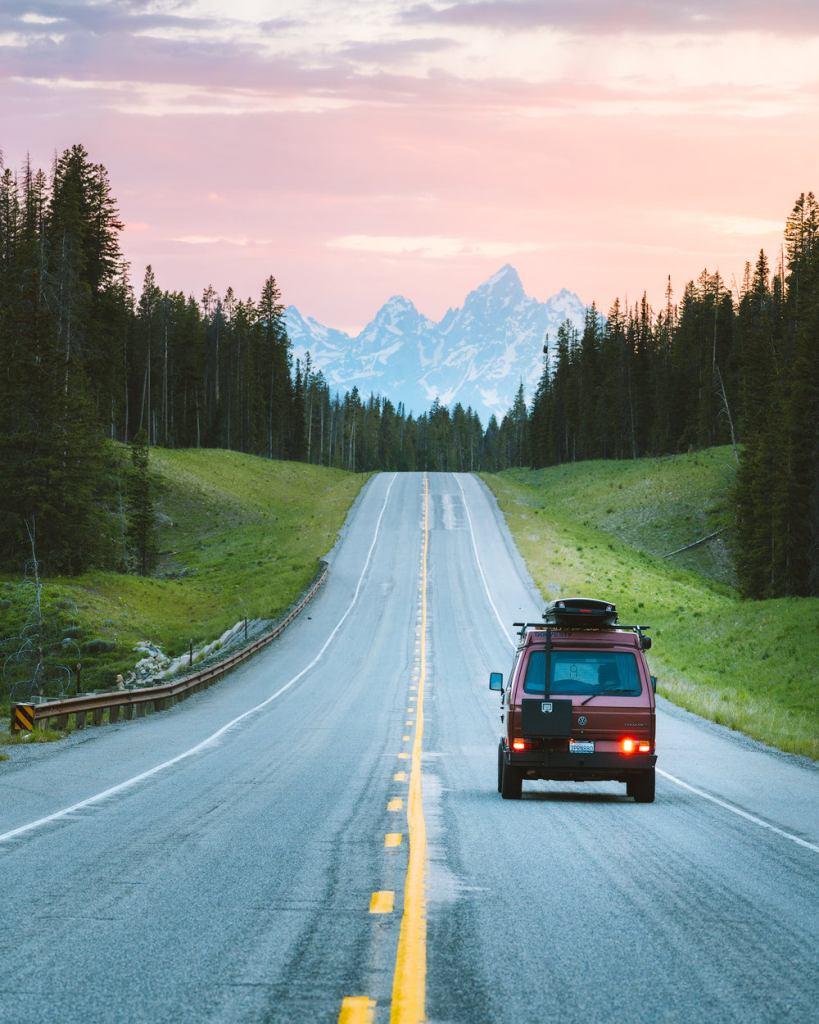 Best National Park Road Trip Itinerary - Grand Teton National Park Van Life