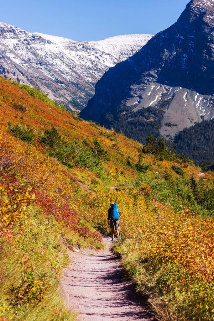 12 Best National Parks To Visit In The Fall - Glacier National Park Fall Hike