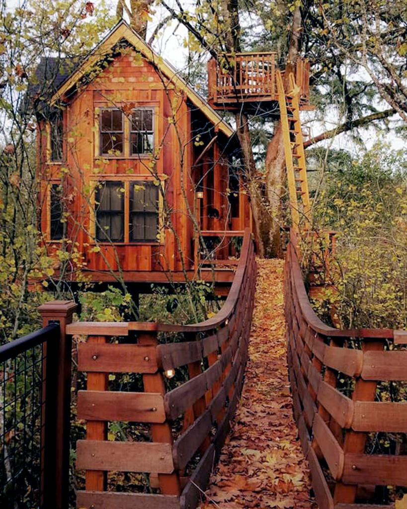 Pete Nelson Original Treehouse