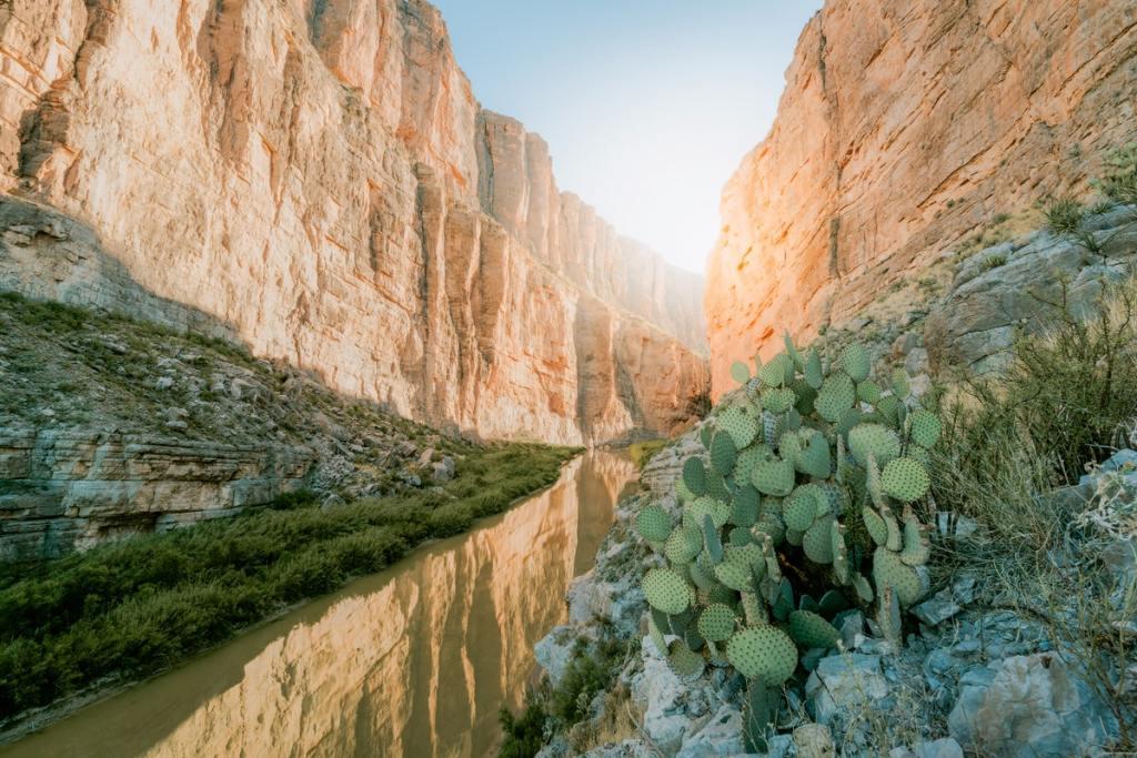 12 Best National Parks to Visit in Winter - Big Bend National Park Santa Elena Canyon