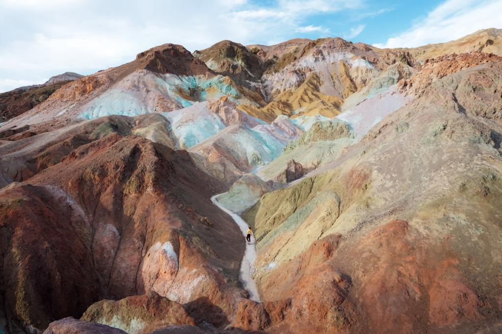 12 Best National Parks to Visit in Winter - Death Valley National Park Artist Palette