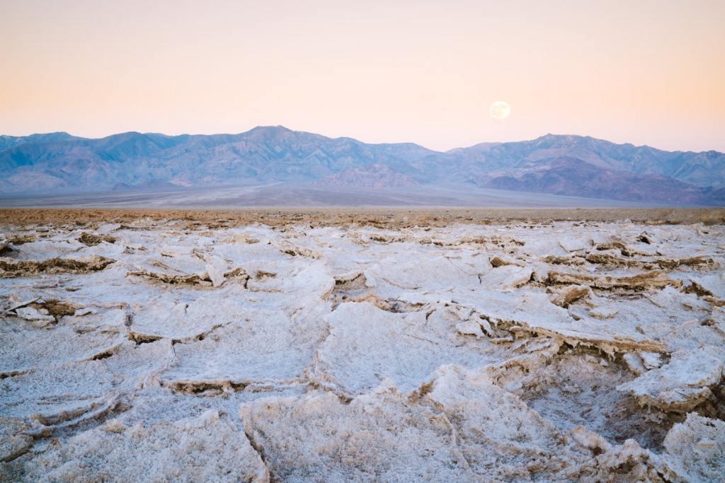 12 Best National Parks to Visit in Winter - Death Valley National Park Salt Flats