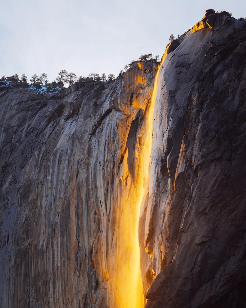 12 Best National Parks to Visit in Winter - Yosemite National Park Firefalls