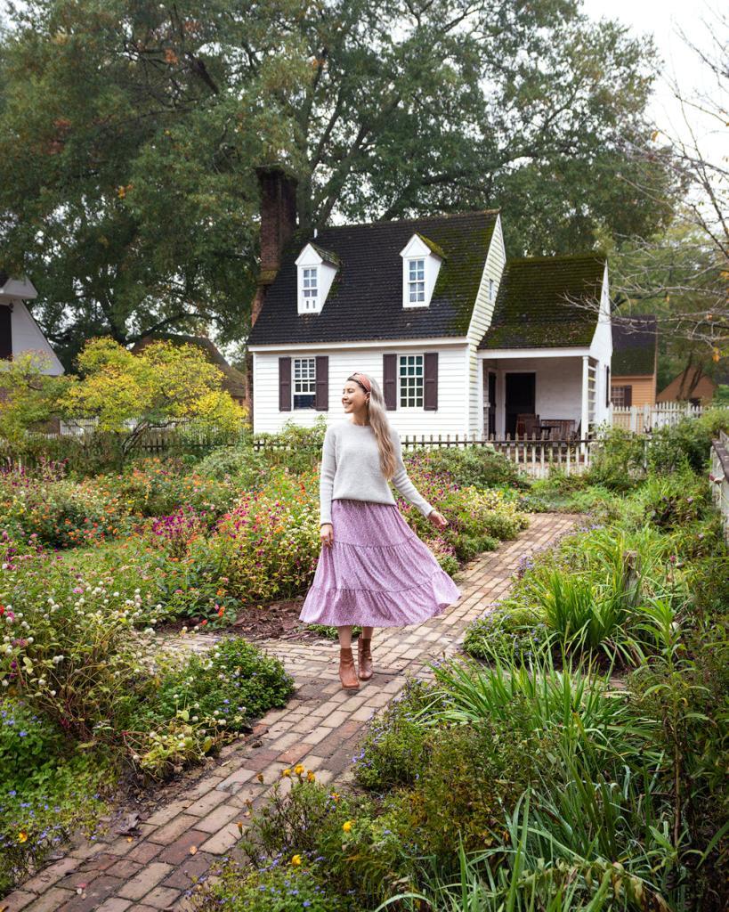 Williamsburg Virginia Guide and Itinerary - Colonial Williamsburg Gardens