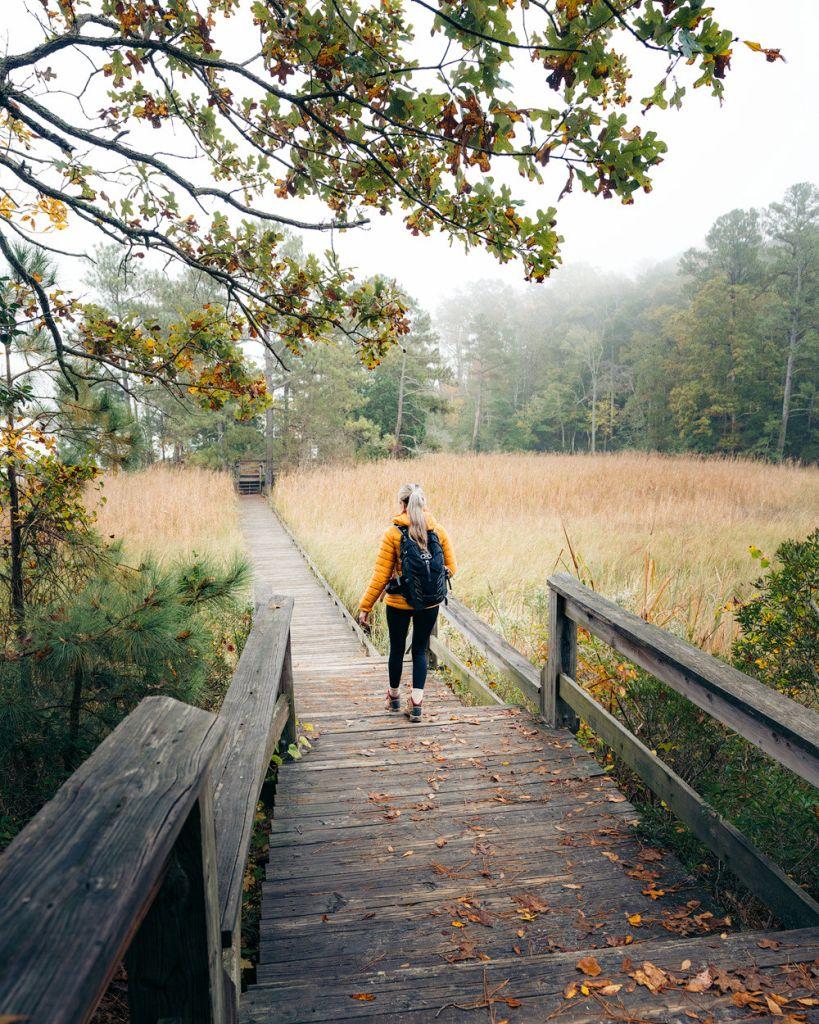 Williamsburg Virginia Guide and Itinerary - York River State Park Bridge
