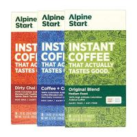 Single serve instant coffee packets