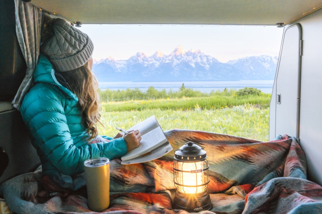 How To Take A Road Trip On A Budget - Vanlife views