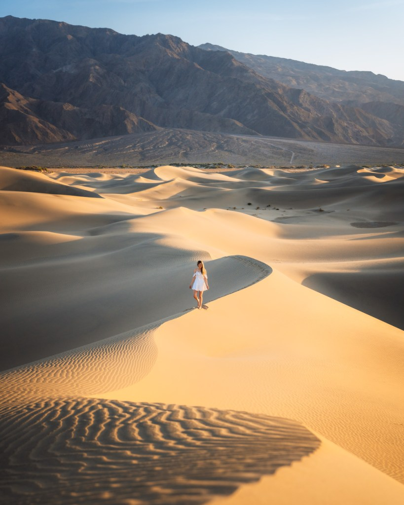 Ultimate Guide to Death Valley National Park - Mesquite Flat Sand Dunes