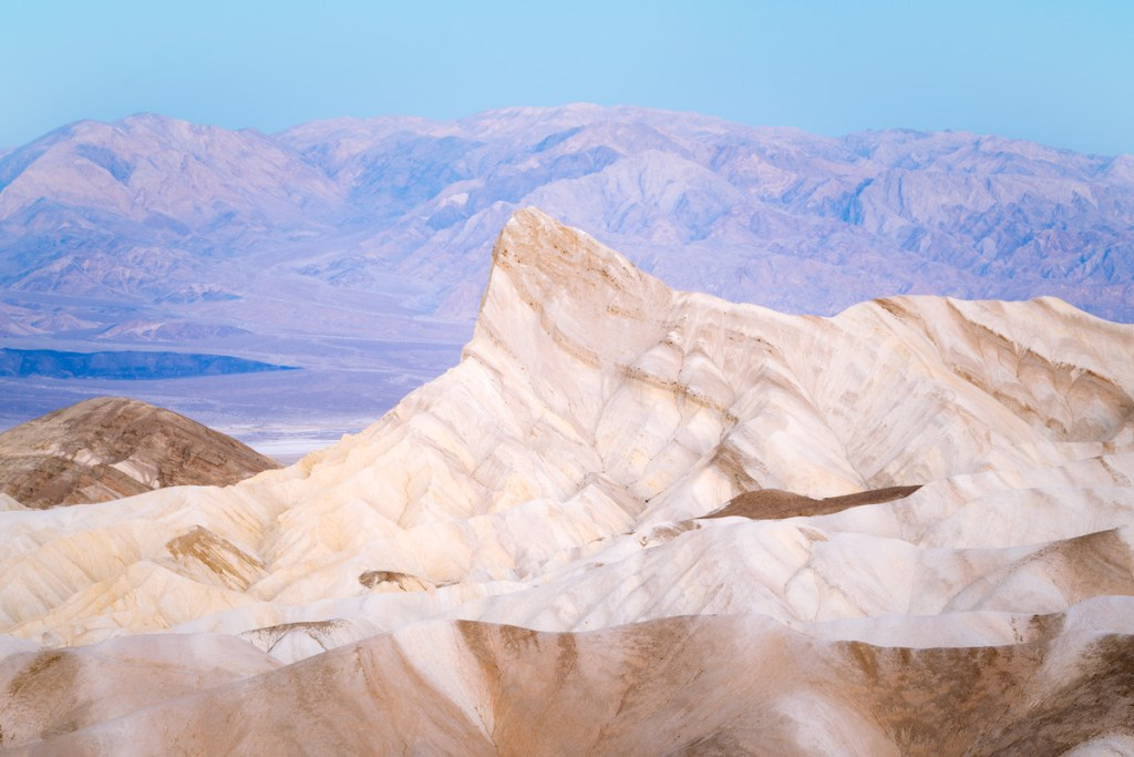 Ultimate Guide to Death Valley National Park - Visiting Zabriskie Point