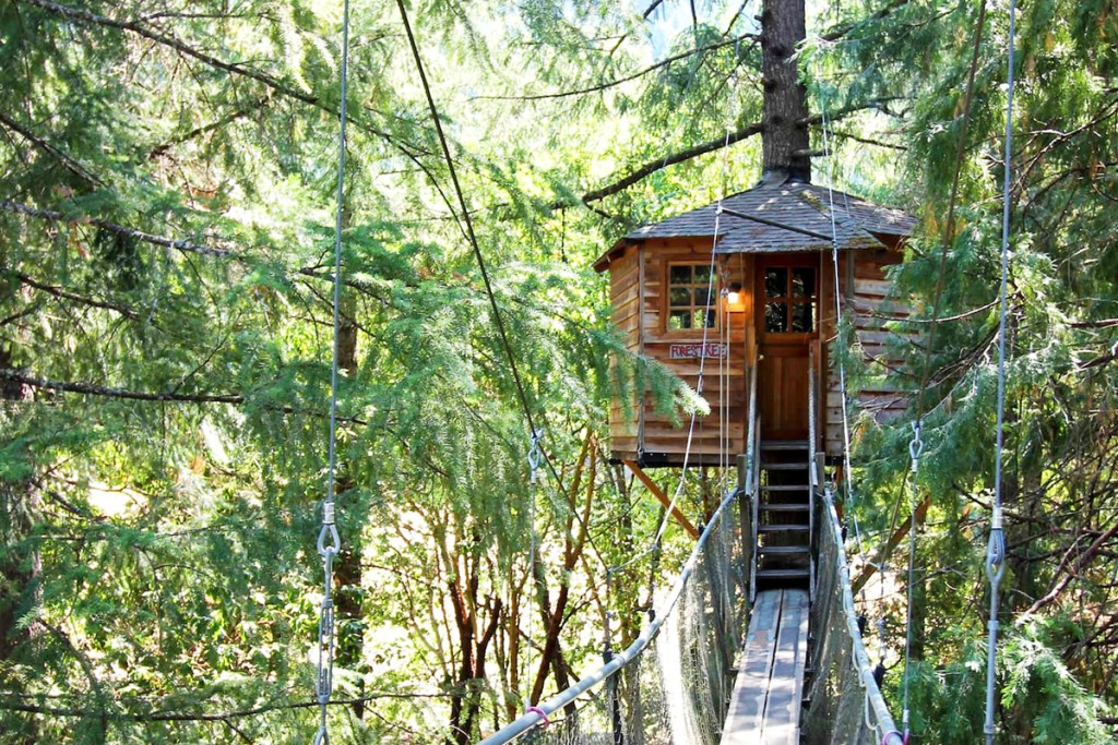 20 Magical Oregon Treehouses You Can Rent - Forestree Oregon Treehouse