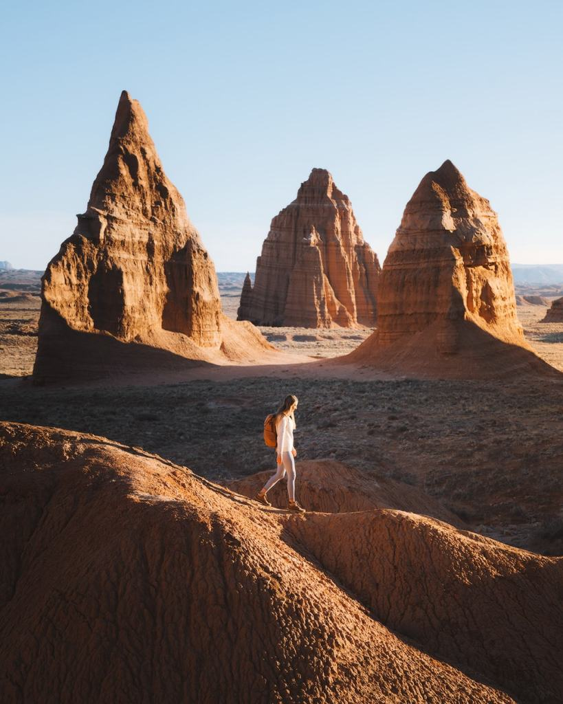 Best National Parks to Visit in Spring - Capitol Reef National Park - Cathedral Valley Hike