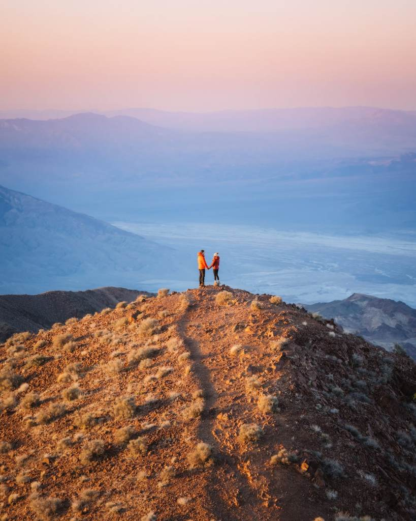 Best National Parks to Visit in Spring - Death Valley National Park - Dante's View