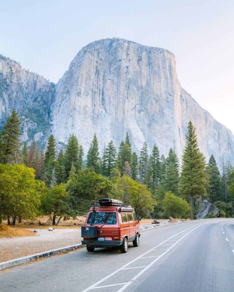 Best National Parks to Visit in Spring - Yosemite National Park - Driving In The Valley