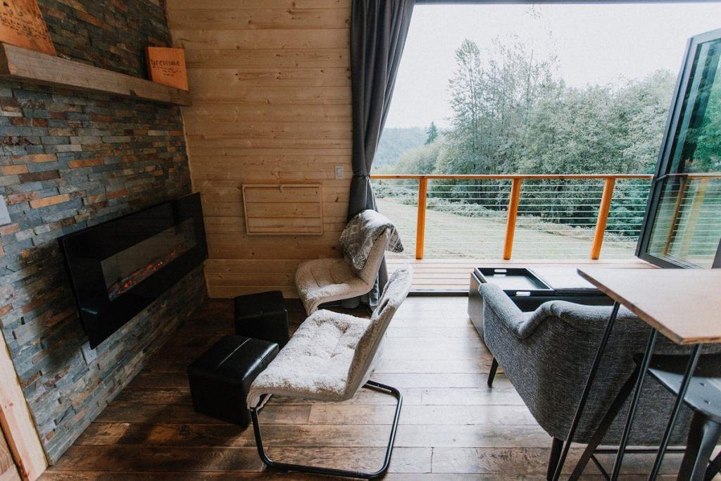 Oregon Cabin to Rent near Mt Hood - Mt Hood View Tiny House