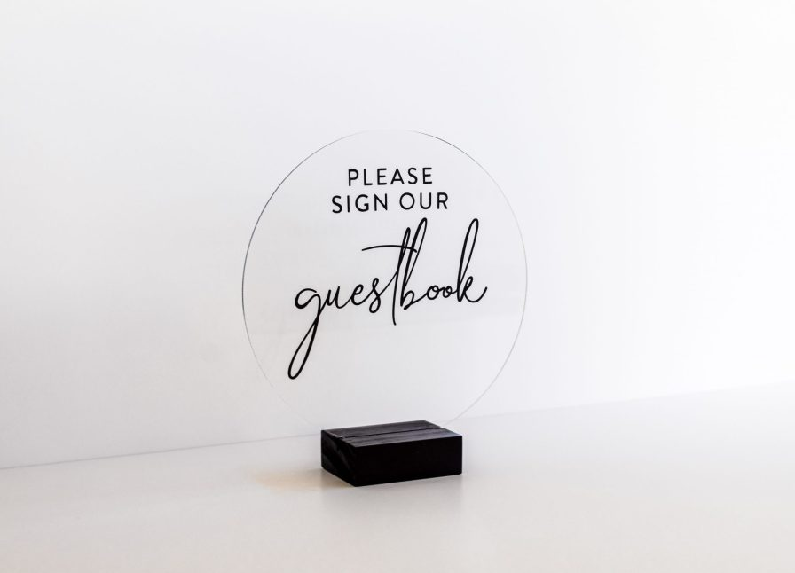 round-acrylic-guest-book-sign