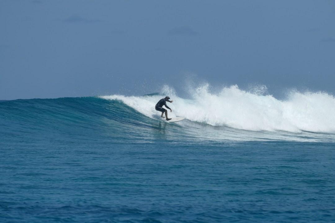 Muli surf Maldives