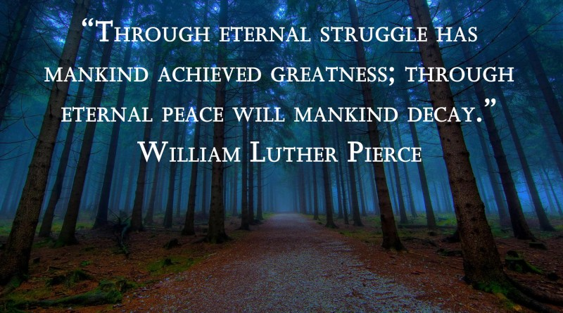 William-Pierce-Eternal-Struggle_forest_path