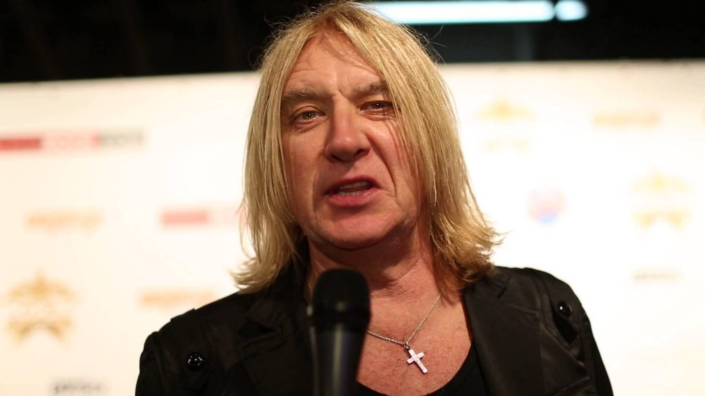 Joe Elliot (Def Leppard). Yes, he is Jewish.