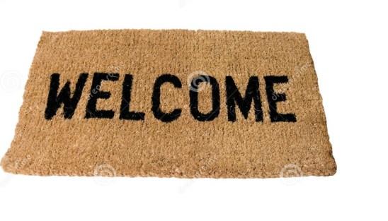 welkom deurmat nw