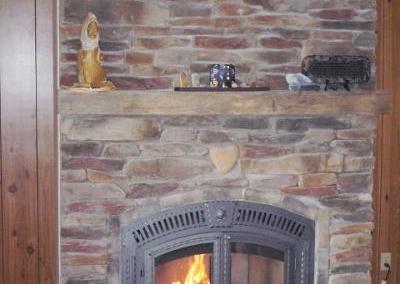 Job Photos: Wood Burning Fireplaces