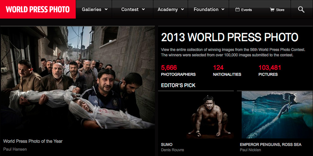 Paul Hansen wins World Press Photo 2012