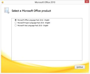 Office Language installer 01
