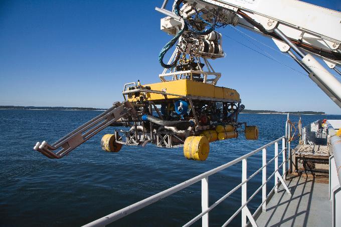 Nexans stroj za podvodno kopanje jaraka