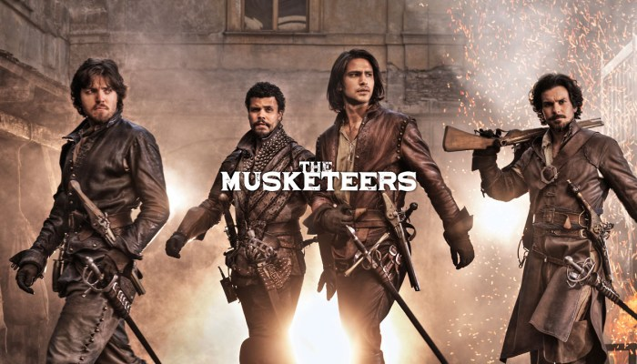 the musketeers cancelled or renewed
