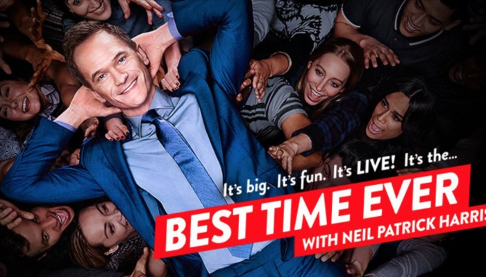 Best Time Ever With Neil Patrick Harris Cancelled Or Renewed For Season 2?