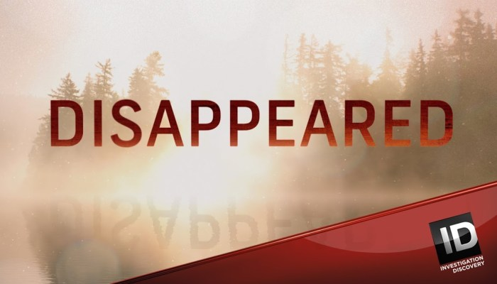 Disappeared Season 9? Cancelled Or Renewed ID Status (Release Date)