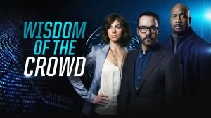 Wisdom of the Crowd CBS TV Show Status