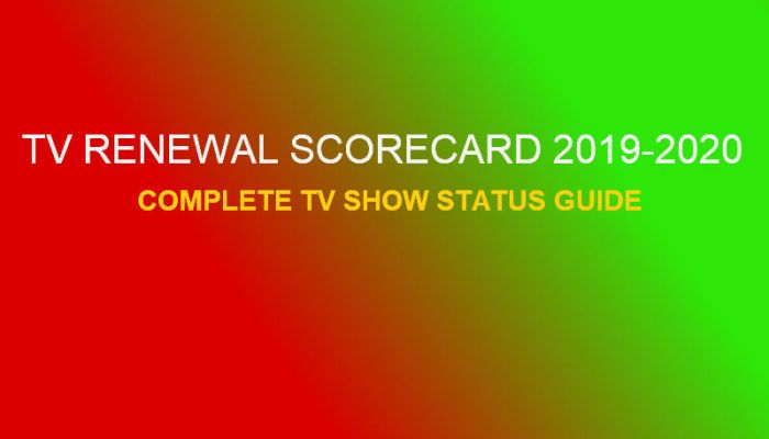 TV Renewal Scorecard 2019-2020