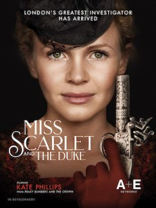 A&E Announces New Series Miss Scarlett and The Duke