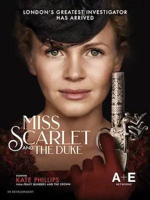 A&E Announces New Series Miss Scarlett and The Duke