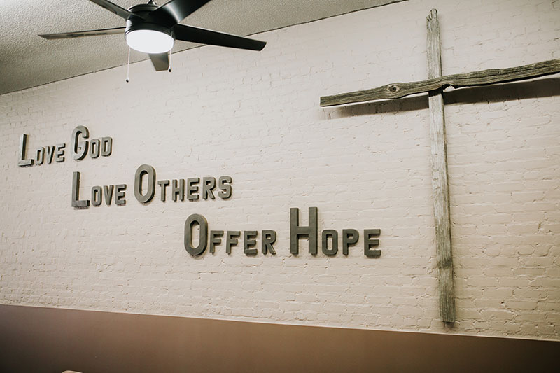 Love God, Love Others, Offer Hope