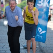 Conor gets on his marks for Paisley 10k